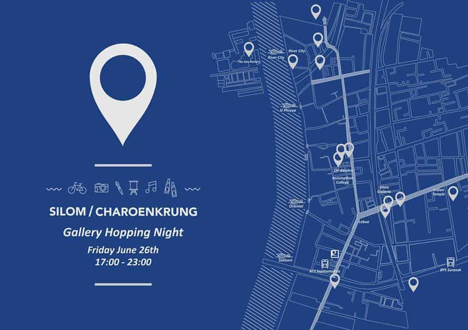 Bangkok Mid Year Gallery Hopping Night