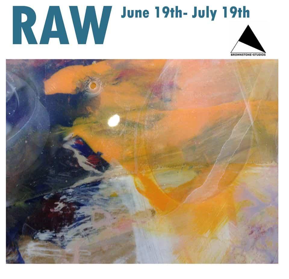 Brownstone Studio # Art Exhibition # RAW