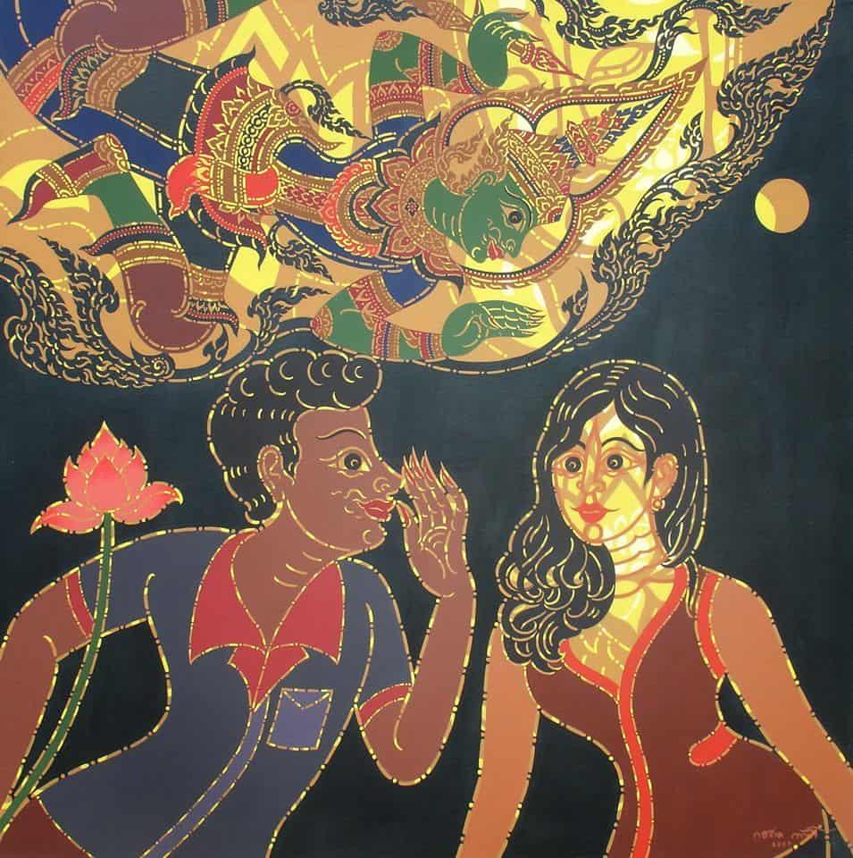 Chamchuri Art Gallery # Koradol Kuljarusiri