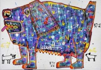 Popkapi - Jakkrit Chewapanya - Weird Dog 170 x 120