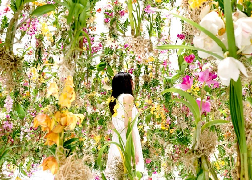 Superb Floating Flowers Installation # Tokyo 2