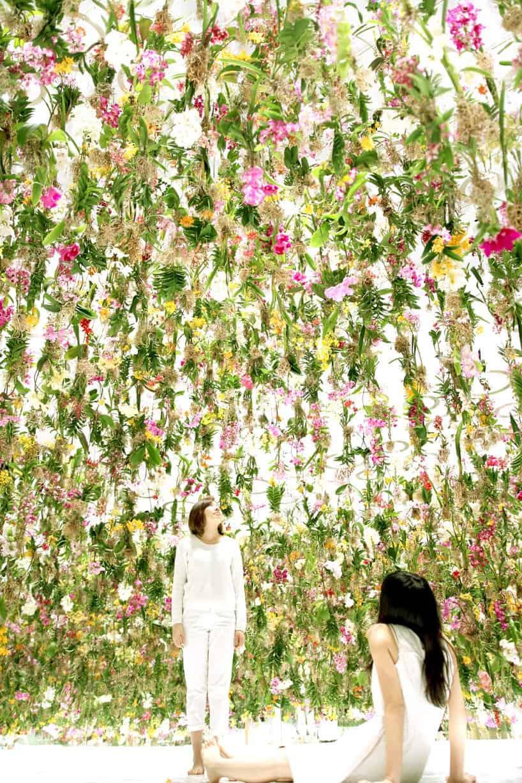Superb Floating Flowers Installation # Tokyo 4