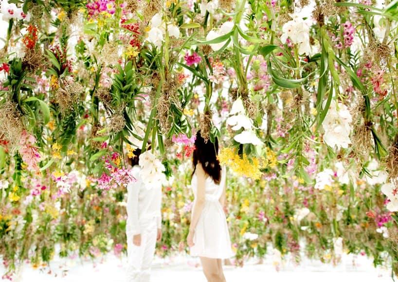 Superb Floating Flowers Installation # Tokyo 5