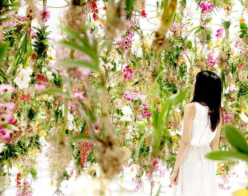 Superb Floating Flowers Installation # Tokyo 7