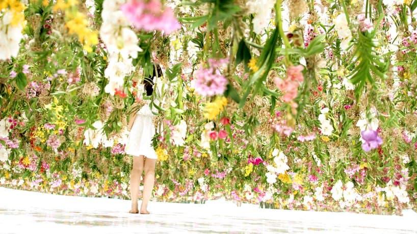 Superb Floating Flowers Installation # Tokyo 8