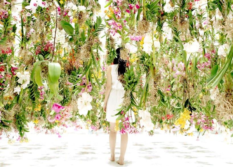 Superb Floating Flowers Installation # Tokyo 9