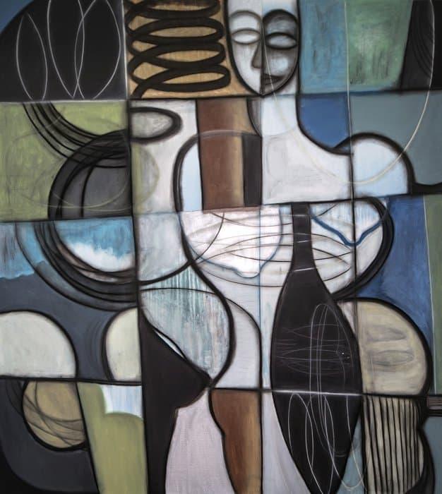 Boonchai Wedmakawand - Thai Art - Women - 6035 - 120x140 cm
