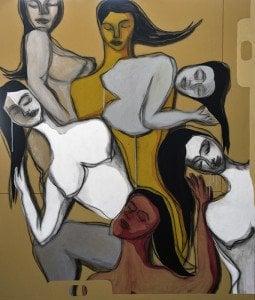 Boonchai Wedmakawand - Thai Art - Women - 6290 - 120x140 cm