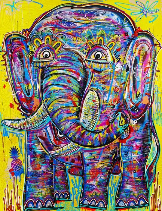 Popkapi - Jakkrit Chewapanya - Weird Elephant