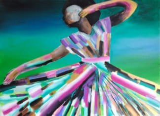 Amy Diener - African Dancer - 150 x 100