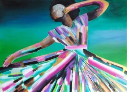 Amy Diener - African Dancer - 150 x 100