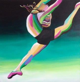 Amy Diener - Dance Release - 40 x 40