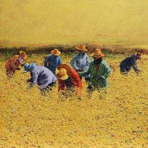 Anurak Namaphai - Issan Farmers - Thai Art