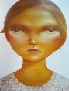 Aranya Khunchonwuttichai – Untitled 1 – 90 x 100 – Thai Art