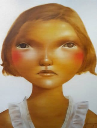 Aranya Khunchonwuttichai - Untitled 2 - 90 x 100 - Thai Art