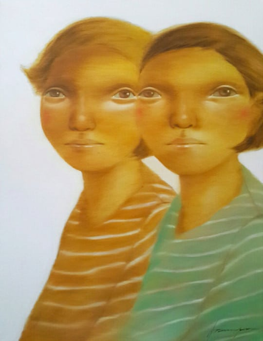 Aranya Khunchonwuttichai - Untitled 3 - 70 x 90 - Thai Art