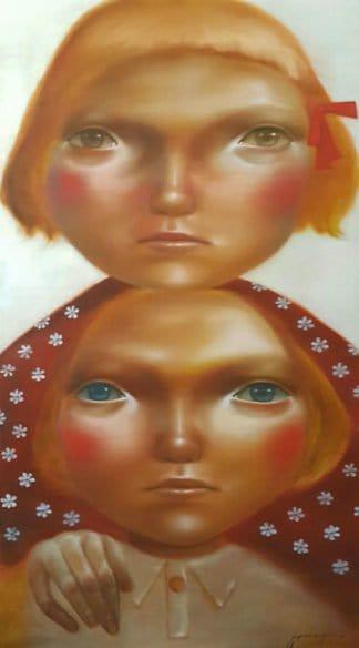 Aranya Khunchonwuttichai - Untitled 5 - 110 x 200 - Thai Art
