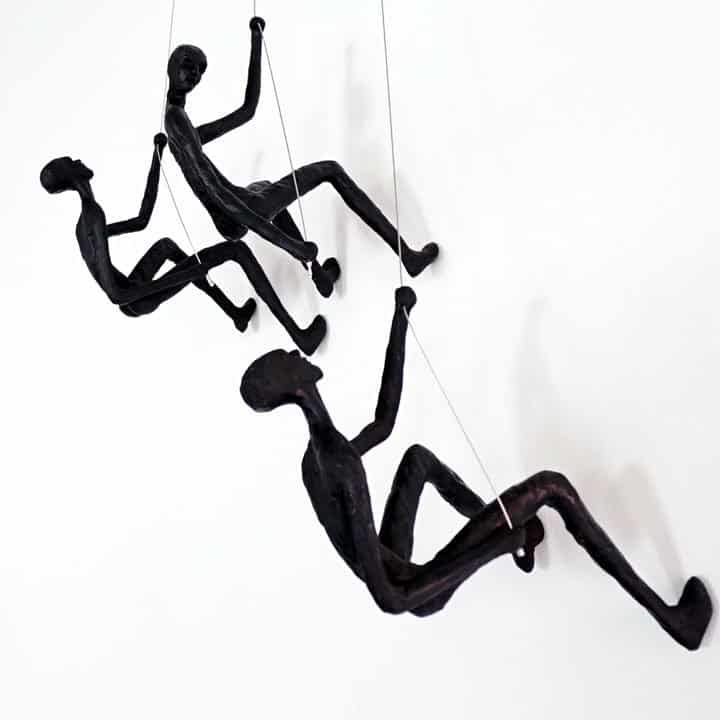 climbing-man-wall-sculpture-set-of-3-sculptures-black