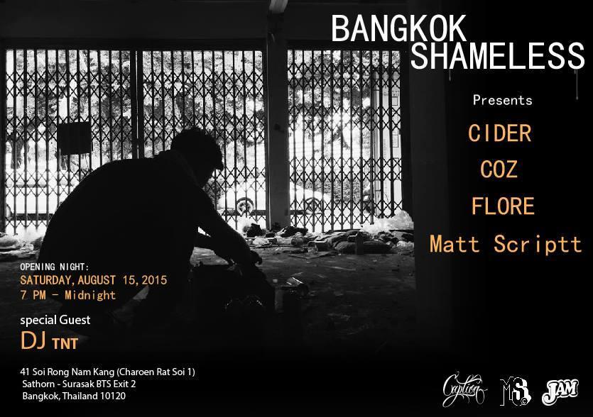 JAM - Bangkok Shameless Pop Up Exhibition