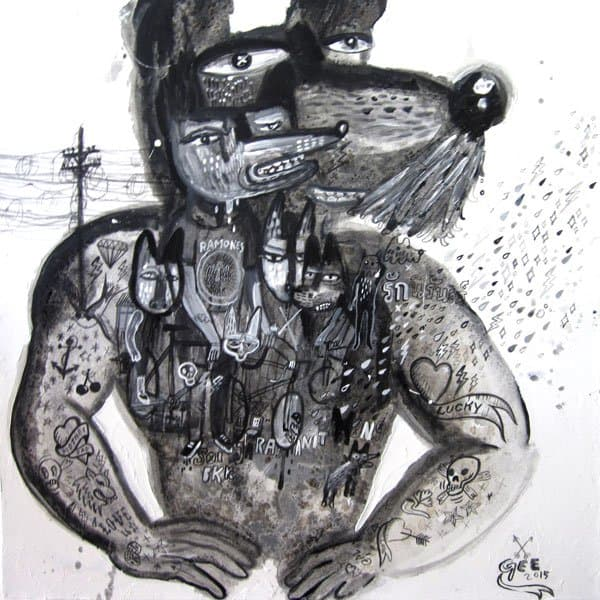 Jirawat Pramphet - Black And White - 80 X 80