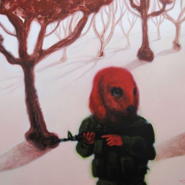 Jirawat Pramphet - In The Red Wood - 130 X 130