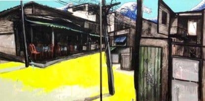Jirawat Pramphet - My Landscape - Diptych - 70 X 70 X 2