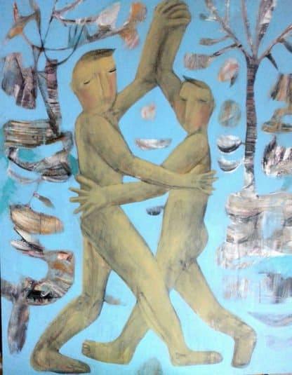Kitti Narod - Dance - 80 x 100 - Gay Art