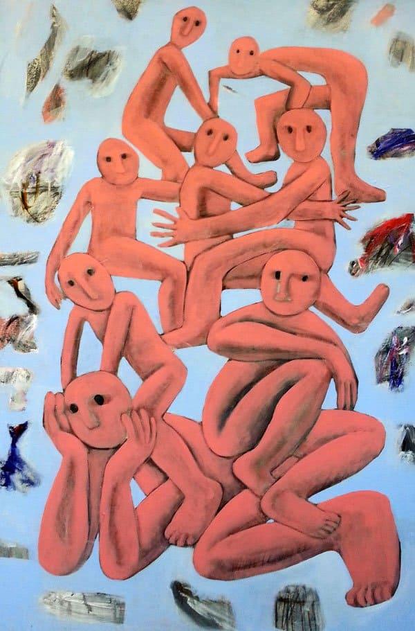 Kitti Narod - Friends - 70 x 120 - Gay Art