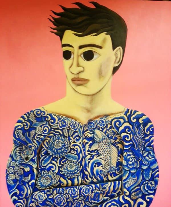 Kitti Narod - Tattoo 1 - 150 x 180 - Gay Art