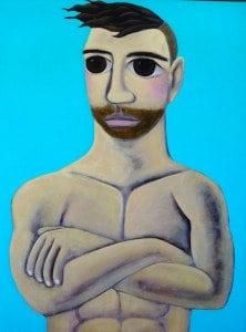 Kitti Narod – Thailand Gay Art – Boy – 80 x 120