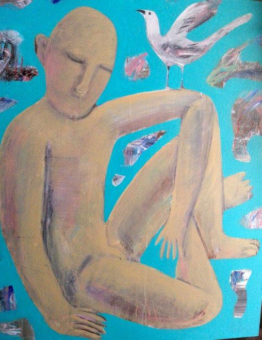 Kitti Narod - Think - 80 x 100 - Gay Art