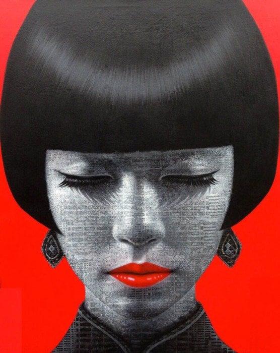 Kraiphet Pitakpreechaki - Untitled Portrait 1 - 80 x 100
