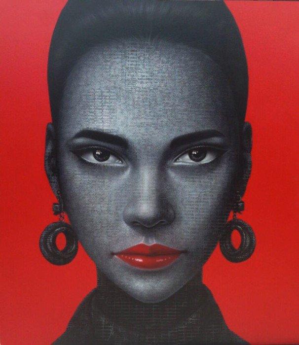 Kraiphet Pitakpreechaki - Untitled Portrait 2 - 140 x 160