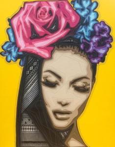 Kraiphet Pitakpreechakij - Lady - Yellow - 80 x 100