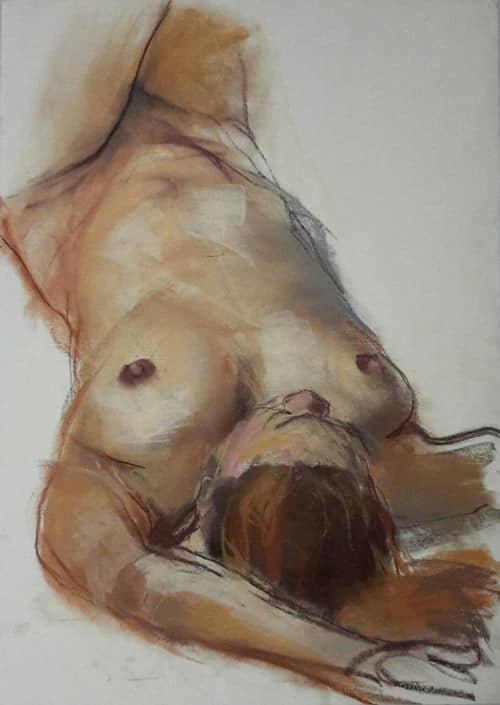 Seven Art Gallery - Naked Allure - Works on paper