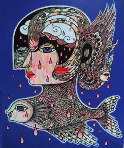 Vatcharapong Nakakrut - Sea Queen No 2 - 100 x 120