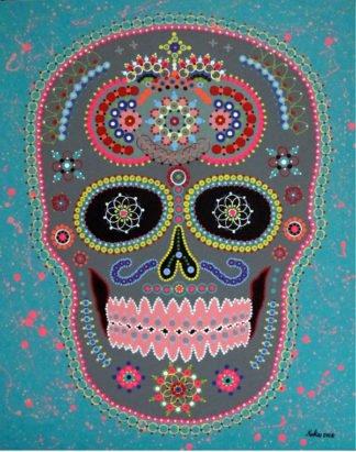 Vatcharapong Nakakrut - Sugar Skull (Sweet) - 80 x 100
