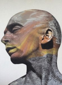 Vichit Nongnual - Untitled Portrait 10 - 145 x 190