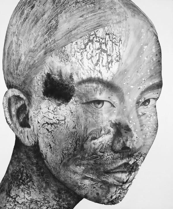 Vichit Nongnual - Untitled Portrait 12 - 160 x 195