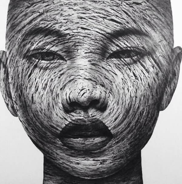 Vichit Nongnual - Untitled Portrait 4 - 160 x 160