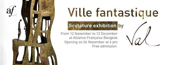 Alliance Française De Bangkok Ville Fantastique Exhibition