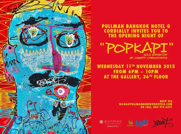 Popkapi - Exhibition - Pullman G Bangkok