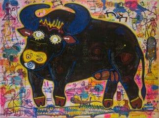 Popkapi - Jakkrit Chewapanya - Black Buffalo - 160 x 120