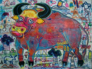 Popkapi - Jakkrit Chewapanya - Crazy Buffalo 2 - 160 x 120.jpg.