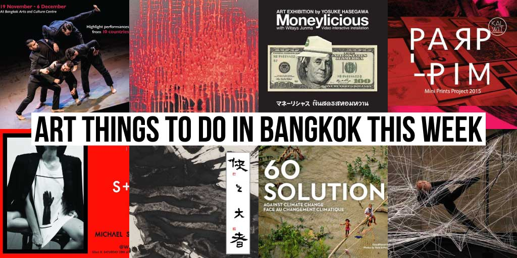 Things To Do in Bangkok This Week - Art 20 - Onarto