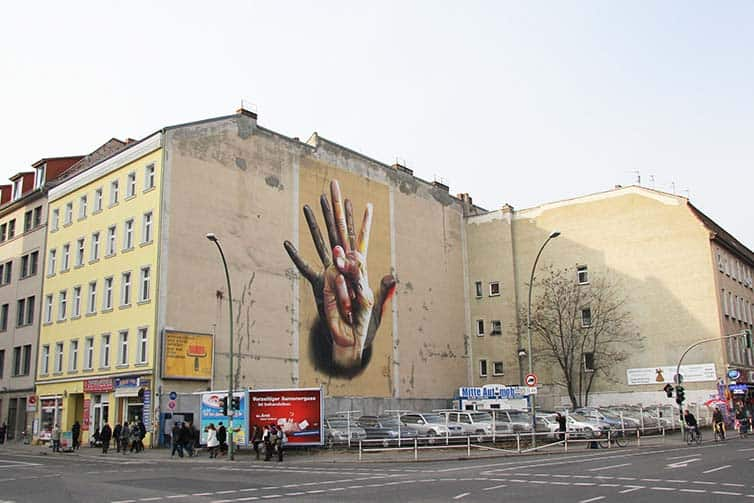 BSA Most Popular Murals of 2015 - Street Art - Germany - Berlin - Case Ma'Claim