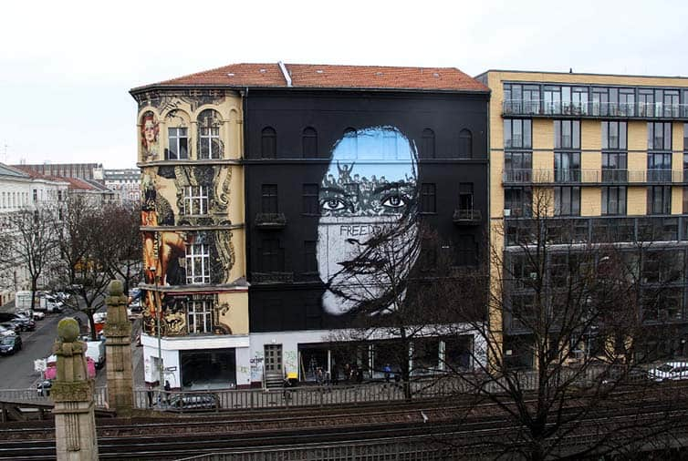 BSA Most Popular Murals of 2015 - Street Art - Germany - Berlin - Icy and Sot