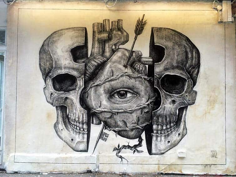 BSA Most Popular Murals of 2015 - Street Art - New York - Manhattan - Alexis Diaz