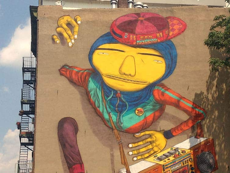 BSA Most Popular Murals of 2015 - Street Art - New York - Manhattan - Os Gemeos