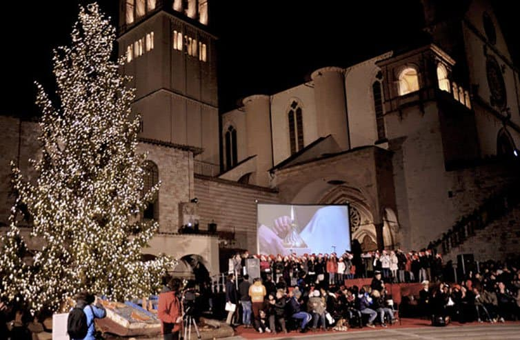 Creative Christmas Tree 2015 - Assisi - Italy